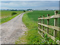 SE7120 : Farm track on Hook Moor by Jonathan Billinger