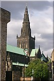 NS6065 : Glasgow Cathedral seen from High Street by C L T Smith