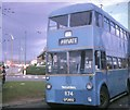 SJ9900 : Walsall trolleybus turning at Cavendish Road by David Hillas