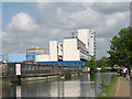 TQ3583 : Apartment blocks by the Regents Canal by Stephen Craven