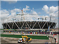 TQ3783 : Olympic stadium construction, May 2009 by Stephen Craven