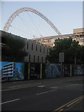TQ1985 : Wembley Arch From South Way by Peter Whatley