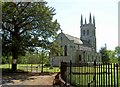 SK6280 : St. John's Church Scofton-with-Osberton by Steve  Fareham