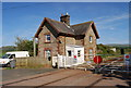 SD0797 : House by the level crossing near Saltcoats by N Chadwick