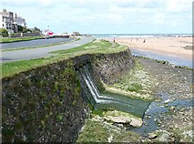 SS2006 : Spillway from the canal, Bude by Humphrey Bolton