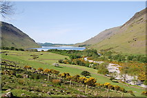 NY1807 : Looking down Wasdale by N Chadwick