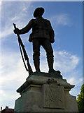 SU4829 : War memorial, Winchester by Stephen McKay