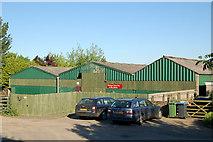 SP5163 : Flecknoe Farm Stud buildings by Andy F