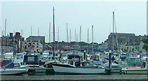 SY6778 : Weymouth Harbour by Chris Gunns