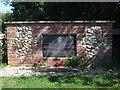 TF9421 : War Memorial at Brisley, Norfolk by gary faux