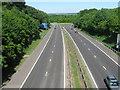 TQ5063 : M25 Junction 4 by David Anstiss