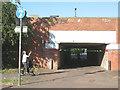 TQ3677 : Pedestrian subway under New Cross station by Stephen Craven