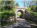 NU0616 : Old railway bridge, Powburn by Oliver Dixon
