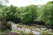 NY1700 : The River Esk near Boot (2) by N Chadwick