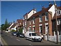 TQ7735 : Houses on High Street, Cranbrook, Kent by Oast House Archive