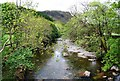 NY1800 : River Esk downstream from Doctor's Bridge by N Chadwick