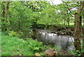 NY1800 : River Esk upstream from Doctor's Bridge by N Chadwick