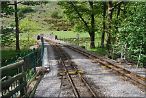 NY1700 : The Ravenglass & Eskdale Railway crosses Whillan Beck by N Chadwick