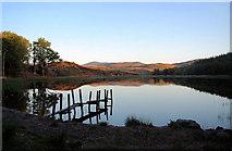 NR4268 : Lily Loch jetty by Bob Jones