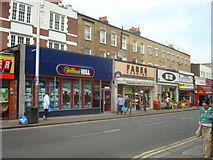 TQ3476 : Shops, Rye Lane, Peckham, London SE15 by Stacey Harris