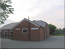 SJ2618 : Four Crosses Village centre by John Firth