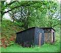NY1600 : Derelict railway buildings near Beckfoot Quarry by N Chadwick