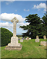 TG3800 : St Margaret's church - war memorial by Evelyn Simak