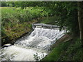 TQ7240 : Waterfall on River Teise by David Anstiss
