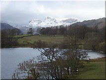 NY3404 : The view across Loughrigg Tarn by Paul Glover
