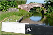 SU4366 : Benham Bridge from Benham Lock by Graham Horn