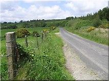 C5034 : Road at Creehennan by Kenneth  Allen
