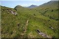 NN0935 : Walking up Glen Liver by Walter Baxter