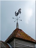 SU8014 : Weather vane, St Peter's Church, East Marden by Maigheach-gheal