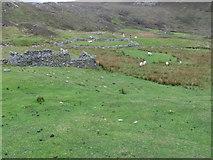 NC7665 : Ruined village of Poulouriscaig by Chris Wimbush