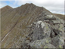 NN1771 : Carn Mor Dearg Arete by Cary O'Donnell