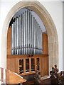 TM1659 : Organ of St Catherine's Church, Pettaugh by Adrian Cable