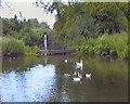 TM2040 : Decoy pond by Gerald England