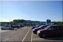 SD5052 : Car Park, Lancaster Services by N Chadwick