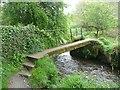 SX1083 : Footbridge, Camelford by Humphrey Bolton