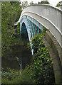 SJ4160 : Iron Bridge, Aldford by Alan Murray-Rust