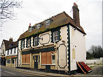 TQ7369 : The Three Gardeners Public House, North Street, Strood, Kent by Oast House Archive