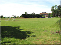 TG2202 : View across the football ground by Evelyn Simak