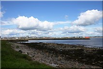 NJ9605 : Aberdeen Harbour Entrance by Andrew Wood