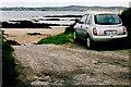 G6693 : Loughros Peninsula - Car parked at Trabane Beach by Joseph Mischyshyn