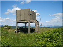 SD3683 : Lookout Tower by Michael Graham
