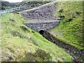 NY8045 : Culvert under the Blackhill to Coalcleugh road by Peter Johnson
