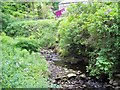NY8545 : Stream flowing under the bridge in Allenheads by Ann Clare