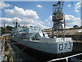 TQ7569 : HMS Cavalier & Destroyer, Chatham Dockyard, Kent by Oast House Archive