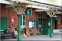 TQ3729 : Horsted Keynes Station on the Bluebell Railway by Craig Janes