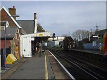 SU3613 : Totton Railway Station by nick macneill